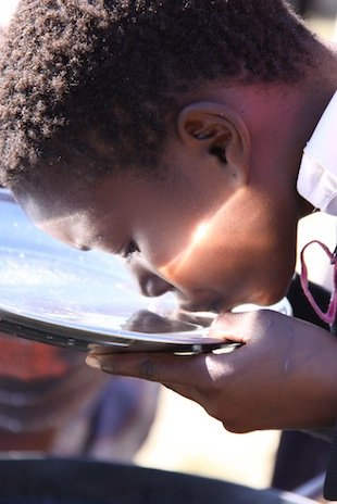 Drinking water for 200+children in South Africa