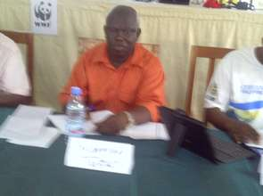SODEIT CEO In Kumba with WWF