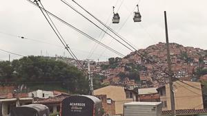 Comuna 13's landscape