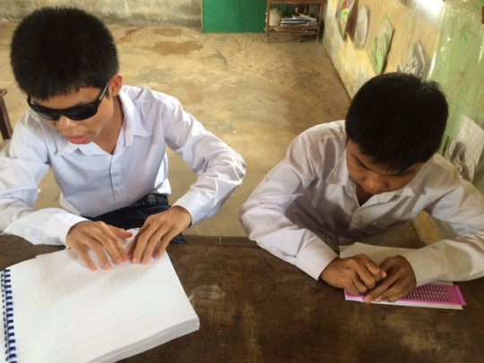 Using Braille to learn our school lessons