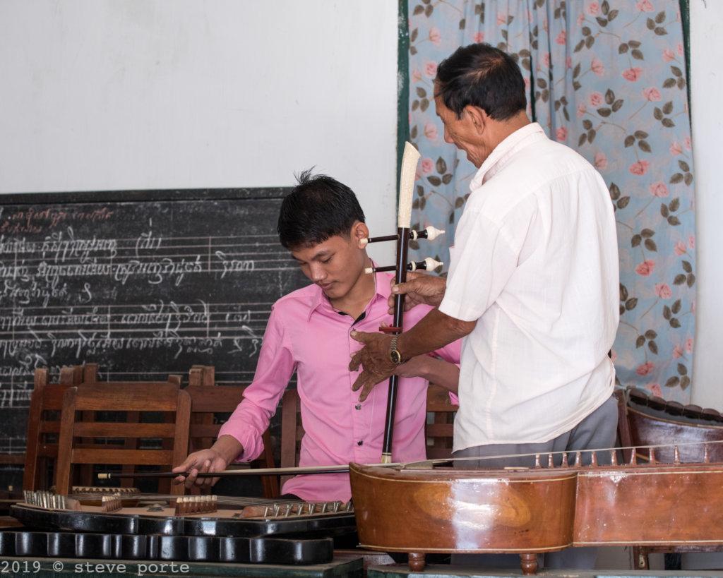 Mohori music lesson