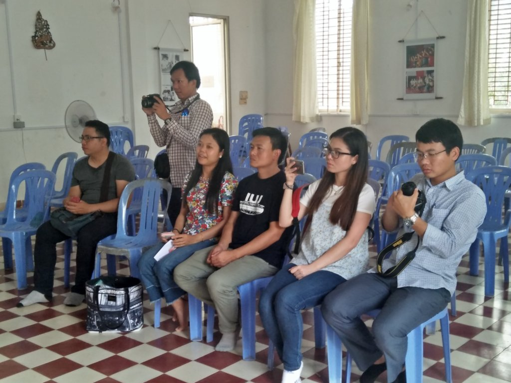 Former Cambodian students from Japanese university
