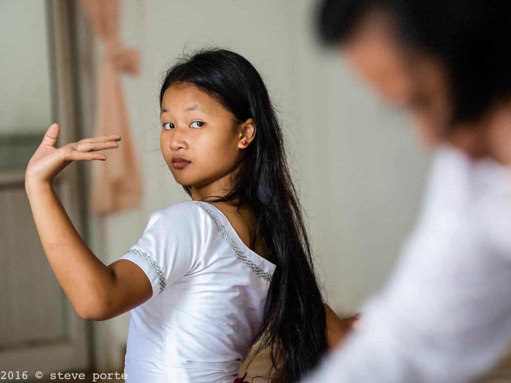 Dance rehearsal at KCDI