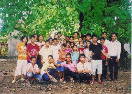 Children on our residential program