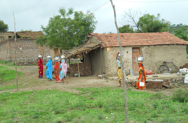 Clean Water for 34 Families in India