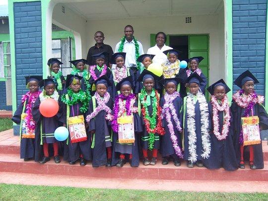 Baby Class Graduating to Class 1