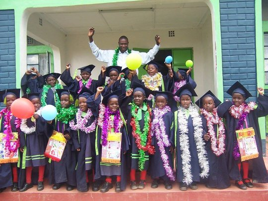 Our Pre primary kids graduating to primary school!