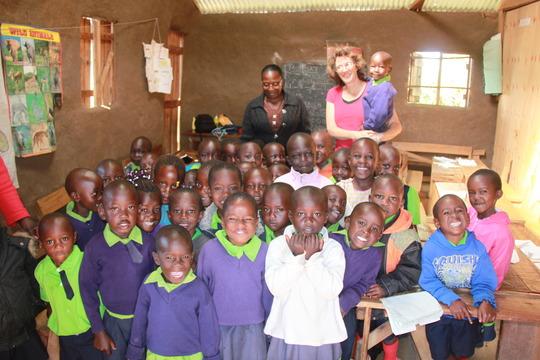Baby class pupils' classroom