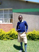 he is our new orphan,  he needs a sponsor
