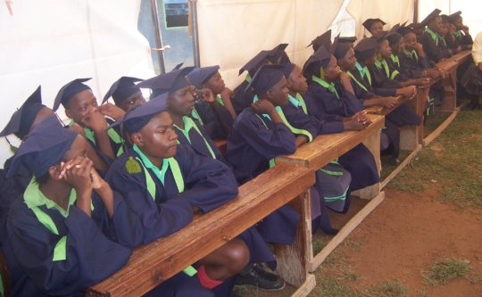 our candidates during graduation celebrations!