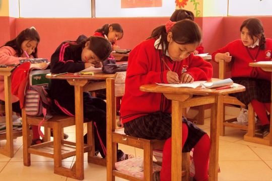Girls are serious about education for their future