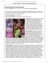 Sonoma Sun Newspaper article on CW - March 2013 (PDF)