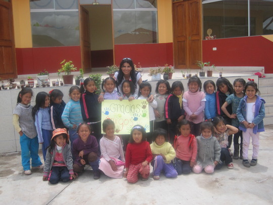 Dirctor Ruth Uribe & youngest students: Thank YOU