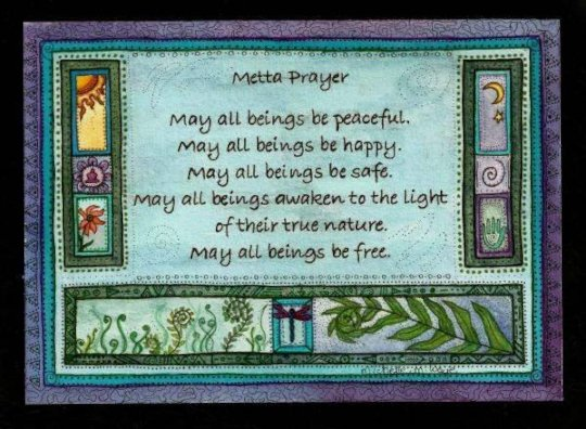 Prayer for all Beings