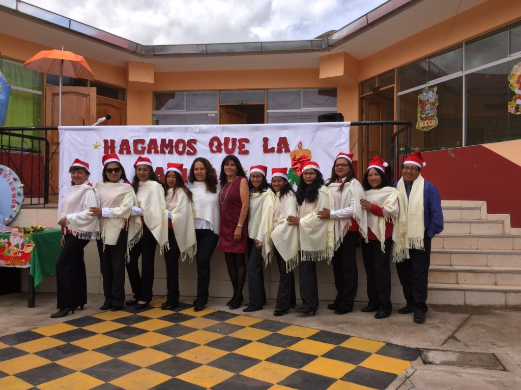 Our teachers say Merry Christmas to ALL
