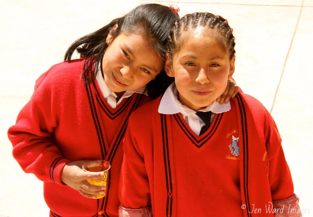 Girls bond for life long friendships