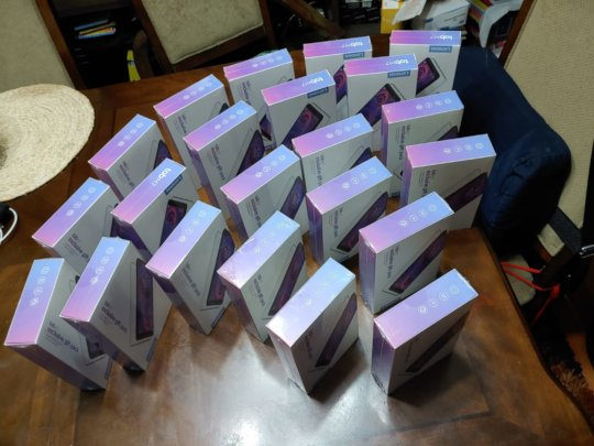 Dr Jorge created a large group donation - Tablets