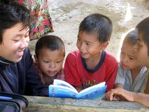 A reading ambassador