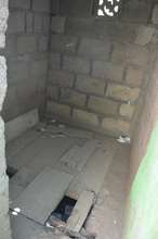 School Toilet - collapsing structure