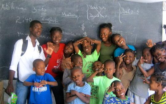 The kids love their teachers!