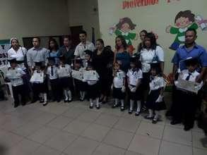 The 2014 CCLE Graduating Preschool Class!