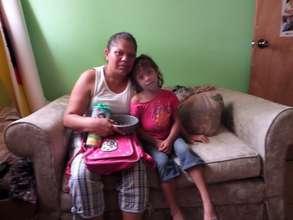 Roxana and her mother Maria Auxiliadora
