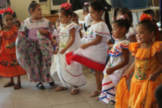 Celebrating Dia del Patria - what joy!