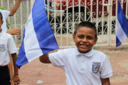 What a hopeful face for Nicaragua