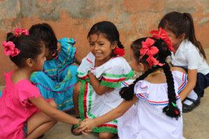 Dia de Patria with our preschoolers!