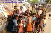 toilets for 35 tribals of machilipatnam in india
