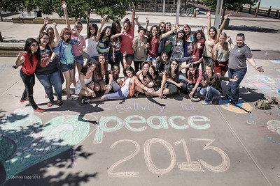 CHALK4PEACE, Santa Fe, 2013