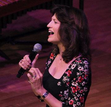 Martha Williamson performing at WAD2013