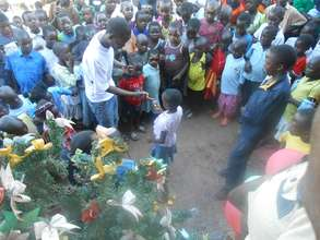 Christmass slum Banquett