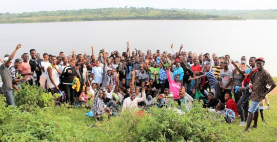 A holiday at Lake Mugesera