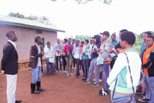 Students Visit Kayonza District with TechnoServe