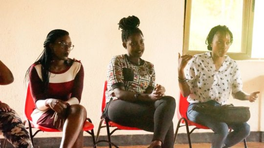 Immaculee , Ornella, and other alumnae give advice