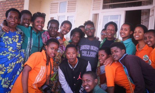 Lift Her Up visits AVEGA, widows of the genocide