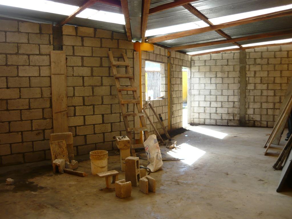 Building underway