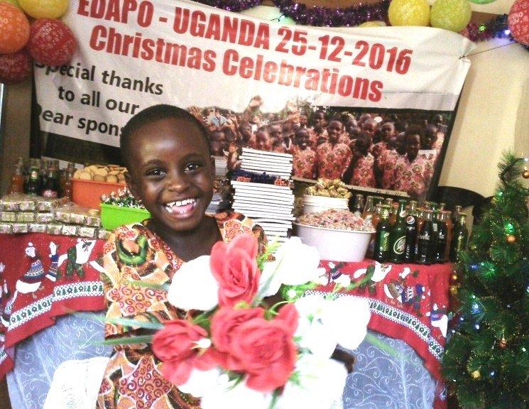 Children enjoying xmas @ EDAPO-2016