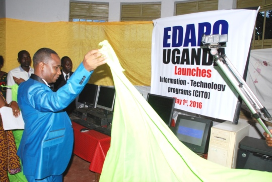 Computer training opened at EDAPO