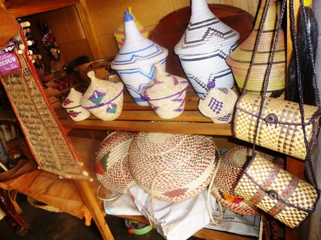 Crafts made by EDAPO Women/caregivers