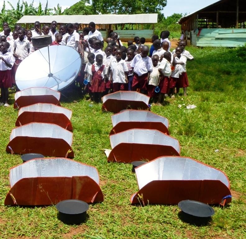 Solar cookers for EDAPO children