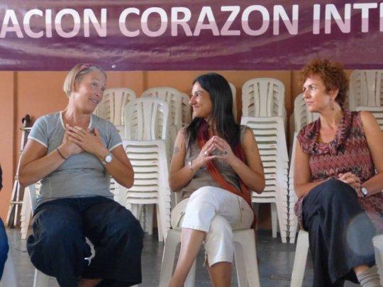 Kirstie, Debora and Renata