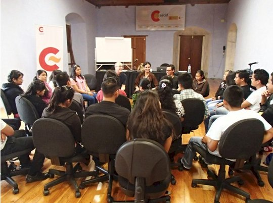 Day-long workshop with Terry Patten and our teens