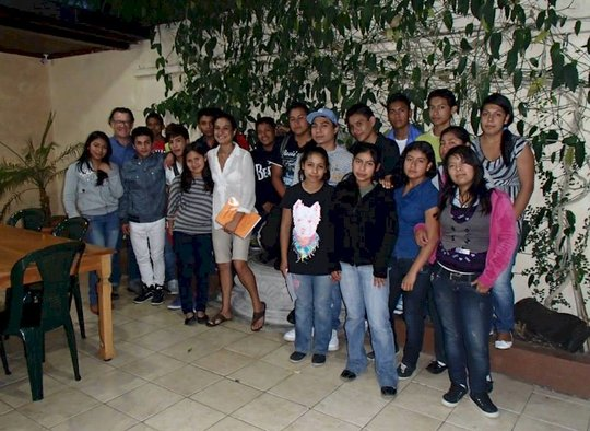 The morning class in CT education program