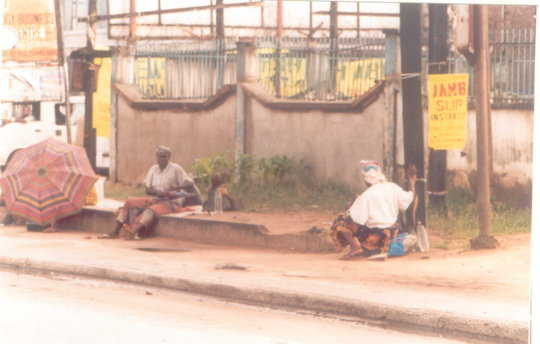 Poverty drove them to city to beg for food & money