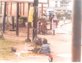 Vulnerable mothers & children live on begging