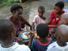 We feed the children, we need your assistance