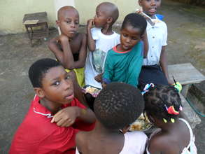 We need your support to continue feeding the kids