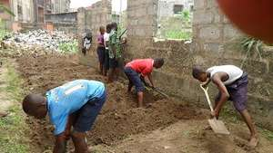 Boys busy working on the farm - need your support